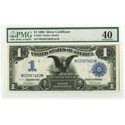 U.S. Silver Certificate, $1, 1899, Fr#232 Issued Note.