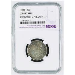 United States: Philadelphia Mint, 1836 25 Cents,