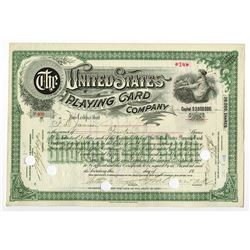 United States Playing Card Co., 1917 Issued Stock Certificate
