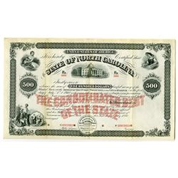 "State of North Carolina, 1880 Specimen ""Consolidated  Debt of the State"" Bond"