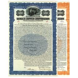 Pair of Seneca Copper Corp. 1923 Issued Bonds