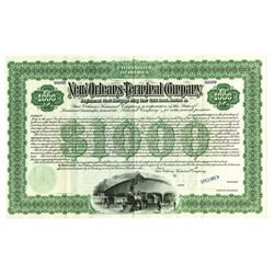 New Orleans Terminal Co., 1903 Specimen Bond.