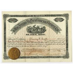 North St. Paul Cottage Co., 1899 Issued Stock Certificate