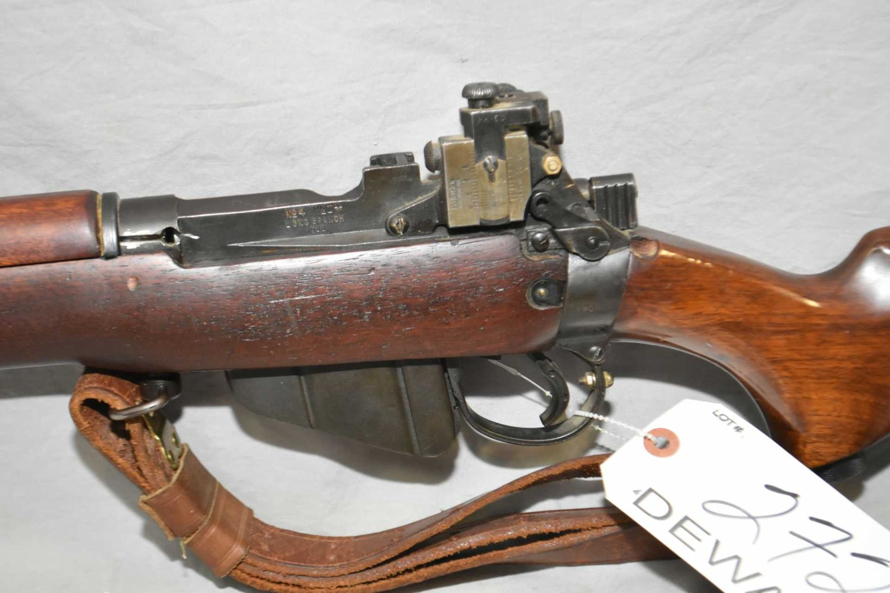 DEWATTED Lee Enfield Model No 4 MK1* Long Branch Dated 1944