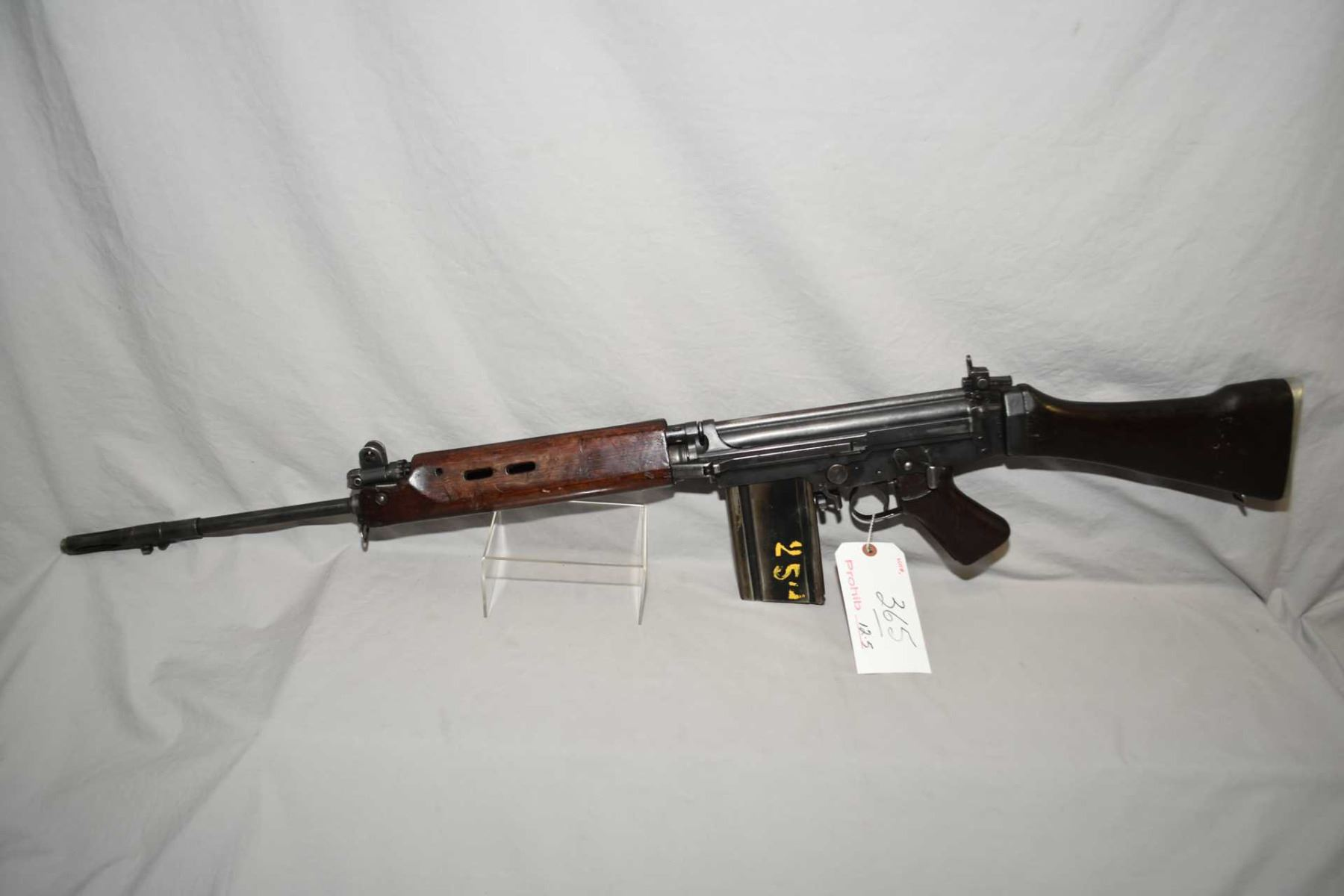 FN FAL Model IA1 7 62 Nato Cal 5 Shot Full Wood Military Semi