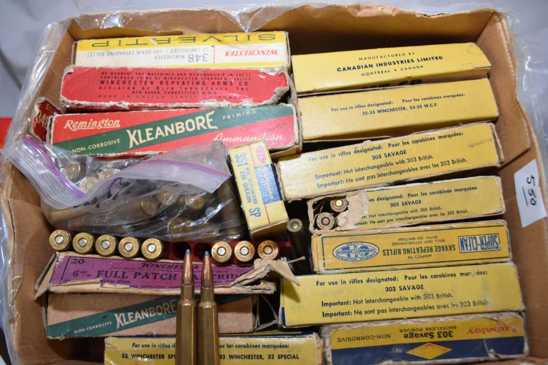 Tray Lot : Collector Ammo [ some in boxes and some loose