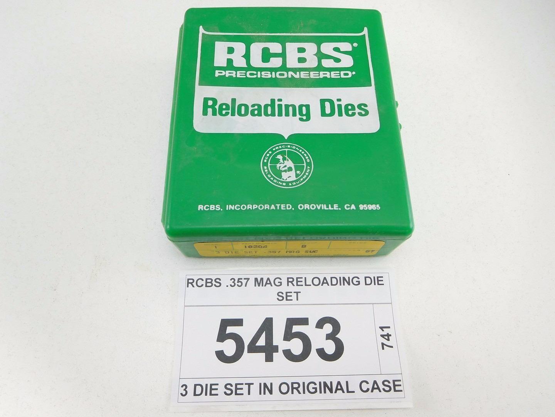 RCBS  357 MAG RELOADING DIE SET