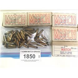 7.62MM MATCH BRASS