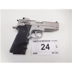 SMITH & WESSON , MODEL: 4006 , CALIBER: 40 S&W