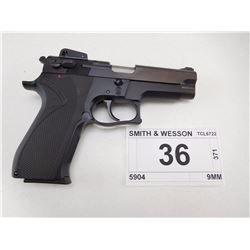 SMITH & WESSON , MODEL: 5904 , CALIBER: 9MM
