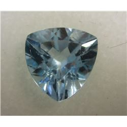 Faceted Sky Topaz 3.87 ct