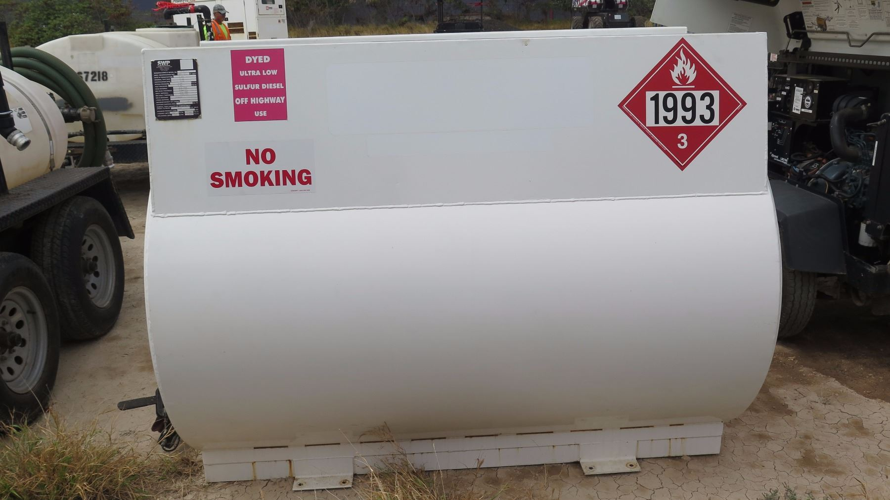 500 Gallon Fuel Tank >> 2016 Swp 500 Gallon Diesel Fuel Tank With Pump Oahu Auctions
