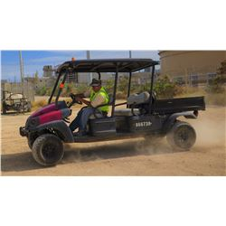 2011 CLUB CAR XRT1550, 4-SEAT UTV - 4WD, DIESEL, KUBOTA MOTOR, 1500 HOURS