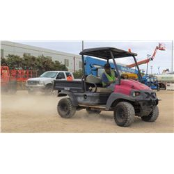 2010 CLUB CAR MODEL XRT 1550 UTV W/KUBOTA DIESEL MOTOR, 4 SEAT, 4WD, 2280 HRS