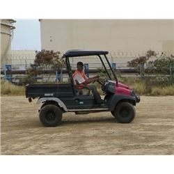 2009 CLUB CAR MODEL XRT 1550 UTV W/KUBOTA DIESEL MOTOR, 2 SEAT, 4WD, 1335 HRS
