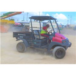 2008 CLUB CAR MODEL XRT 1550 UTV W/KUBOTA DIESEL MOTOR, 2 SEAT, 4WD, 2216 HRS