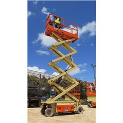 2015 JLG MODEL 2632ES ELECTRIC SCISSOR LIFT 25-FOOT REACH, 29 HOURS