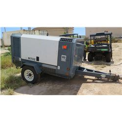 2012 MMD MODEL LR450 DIESEL AIR COMPRESSOR, 150PSI, 375CFM, 1420 HOURS