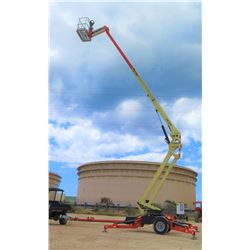 2015 JLG T500J 50-FOOT REACH TOWABLE ARTICULATING MANLIFT, 109 HOURS