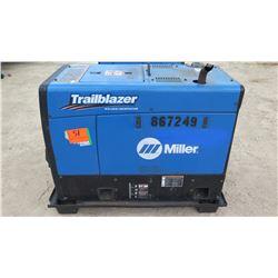 MILLER TRAILBLAZER 325 EFI WELDER/12000 GENERATOR,