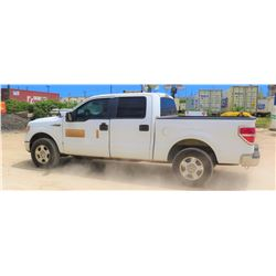 2010 FORD F150 PICKUP TRUCK, 4WD, CREW CAB, 109,285 MILES - Check Engine Light Is On
