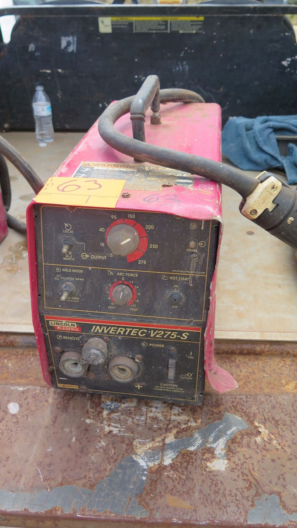 Lincoln Invertec V275 S Stick Welder Oahu Auctions Image 1