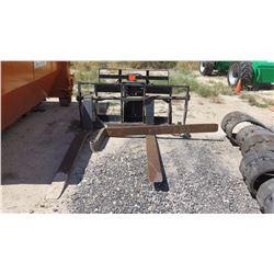 JLG 1001095418 Skytrak Telehandler Forklift Attachment 1 Fork Bent