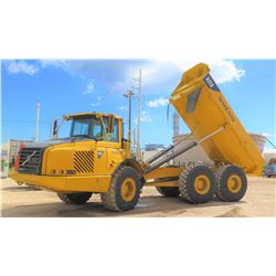 2005 VOLVO A25D 6X6 ARTICULATED DUMP TRUCK, 9658 HOURS