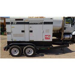 2011 MQ Power 56KW Generator - Model DCA70US12 - 12093 Hours