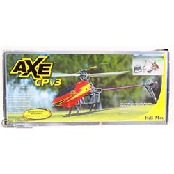 HELI-MAX AXE CPV3 R/C ELECTRIC-POWERED