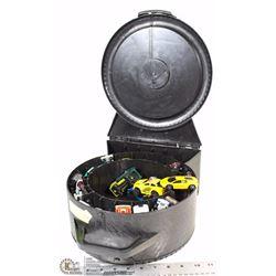 HOTWHEELS SPINNER CAR CASE (FULL APPROX.50)
