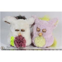 54) PAIR OF LARGE VINTAGE INTERACTIVE FURBYS