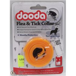 NEW DOODA FLEA & TICK COLLAR (FOR LARGE DOGS)