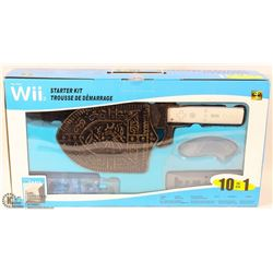 NEW C2 TECH WII STARTER KIT SWORD, SHIELD, RACING