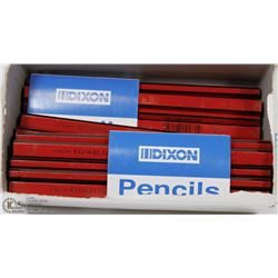 BOX OF DIXON CARPENTERS PENCILS