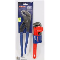 """WESTWARD 12"""" TONGUE & GROOVE PLIERS (CURVED"""