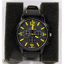 GT GRAND TOURING WATCH BLACK STRAP