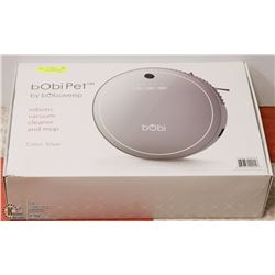 FEATURED ITEM: BOBIPET BY BOBSWEEP ROBOTIC VACUUM!