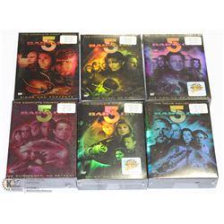 COMPLETE SEASON & MOVIE SEALED BABYLON 5  DVD SETS