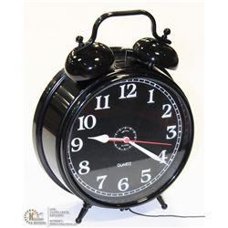 OVERSIZED TWIN BELL ALARM CLOCK