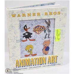 WARNER BROS ANIMATION ART BOOK,  BUGS BUNNY