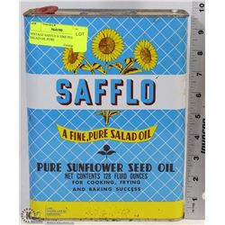 VINTAGE SAFFLO A FINE PURE SALAD OIL PURE