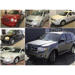 FEATURE CARS AND SUVS