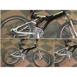 FEATURE SPECIALIZED FULL SUSPENTION WITH
