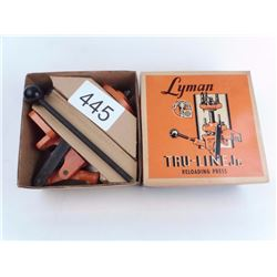 Lyman Tru-Line Jr. Reloading Press