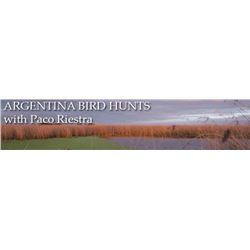 Argentina: Argentina Bird Hunts - Estancia