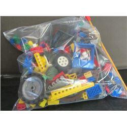 Large bag of Lego