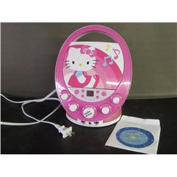 Hello Kitty CD/Sing along player