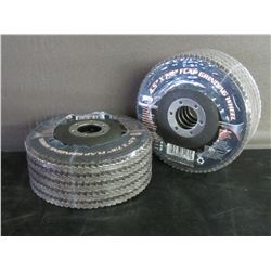 New 4 1/2 inch flap grinding wheels