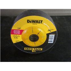 Dewalt grinding discs